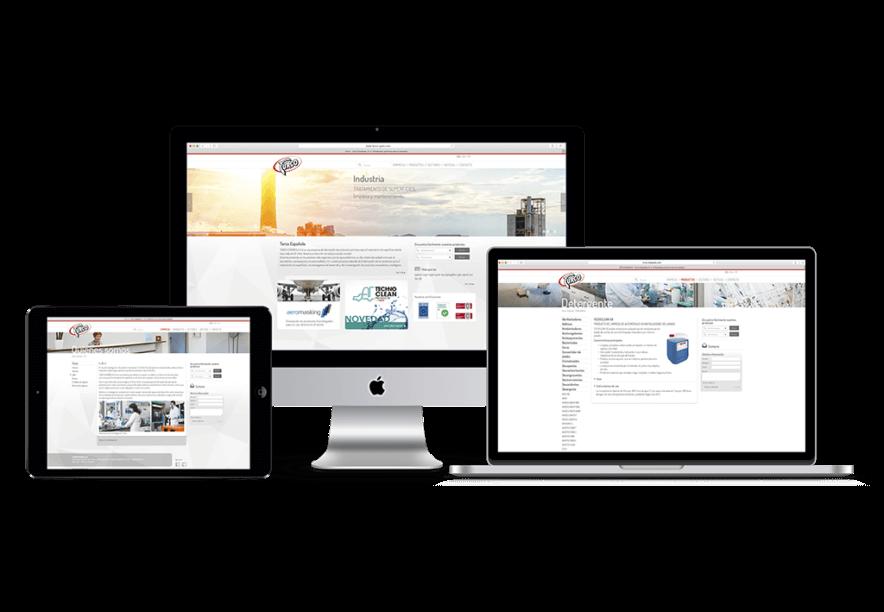 Web design responsive barcelona 884x612 - Creación de la nueva web de  la compañía TURCO ESPAÑOLA S.A