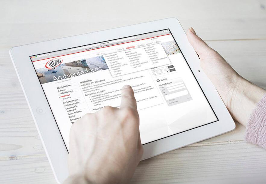 diseno web usabilidad barcelona 883x612 - Creación de la nueva web de  la compañía TURCO ESPAÑOLA S.A