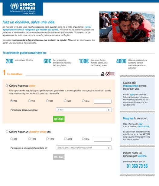 ACNUR colabora Barcelona 526x612 - Mediactiu apoya iniciativas sociales en favor de los refugiados