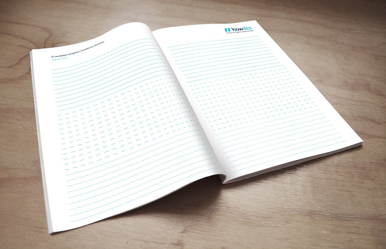 Magazine design barcelona 1 - Notebook. Direct marketing