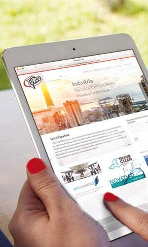 estudio diseno barcelona web 1 - Diseño de sitio web responsive