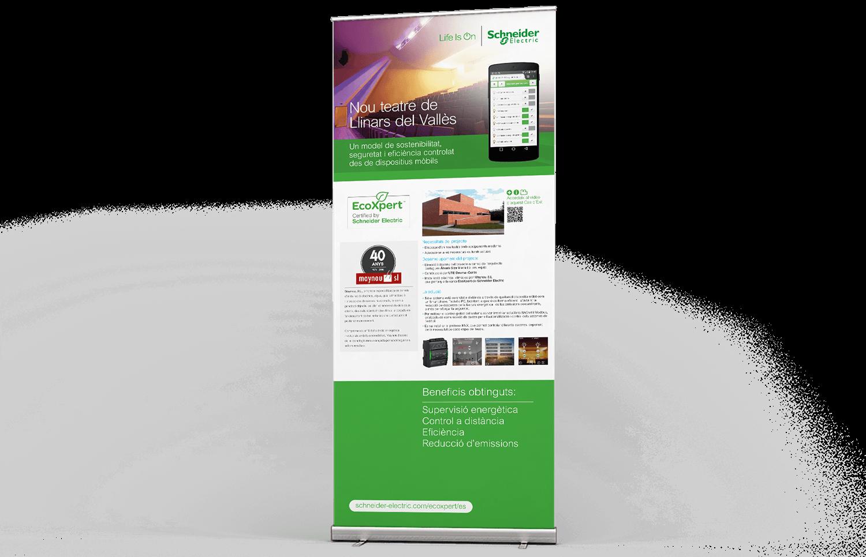rollup barcelona design - Comunicación y estrategia comercial de EcoXpert