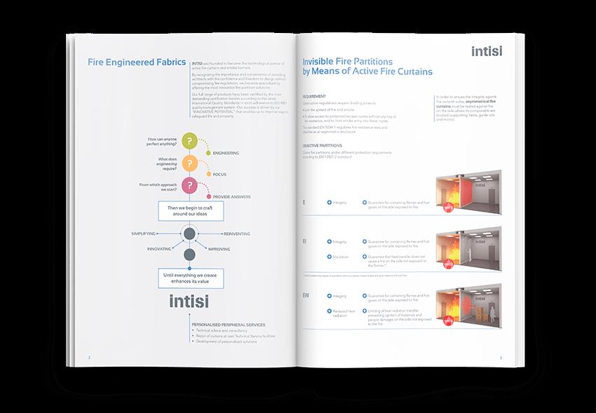 Brochure services barcelona - INTISI, un proyecto global con soluciones a medida