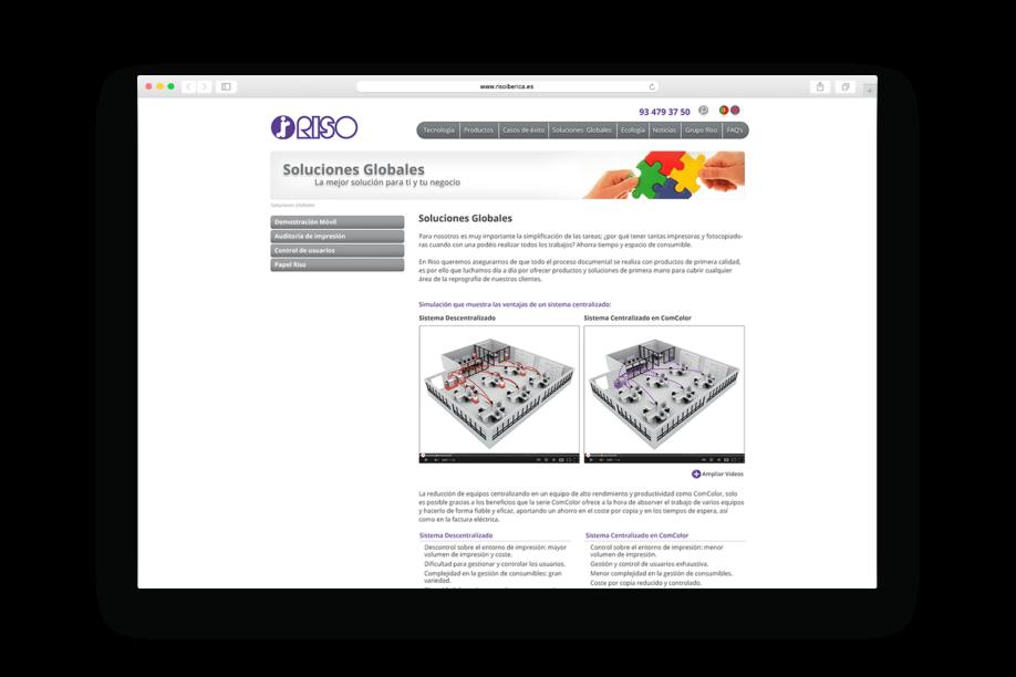 barcelona diseno web riso min 1 918x612 - La firma japonesa de impresión digital Riso estrena página web