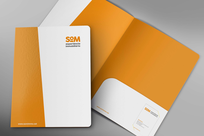branding disseny barcelona SOM - Proyecto de comunicación, diseño y branding 360º