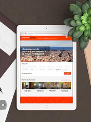 design web bcn - Web para empresa inmobiliària