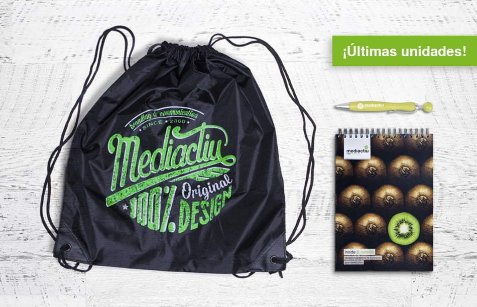 pack bolsa libreta boligrafo barcelona - Pack 100% Original Design