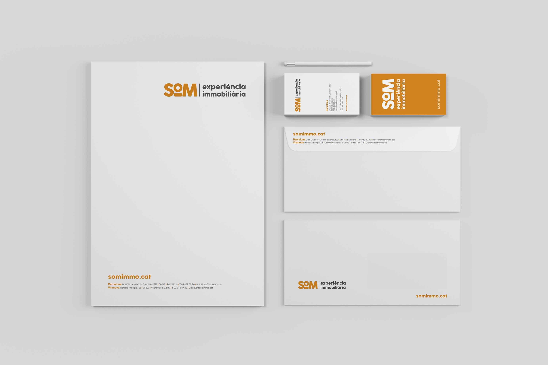 SOM Papeleria - Proyecto de comunicación, diseño y branding 360º
