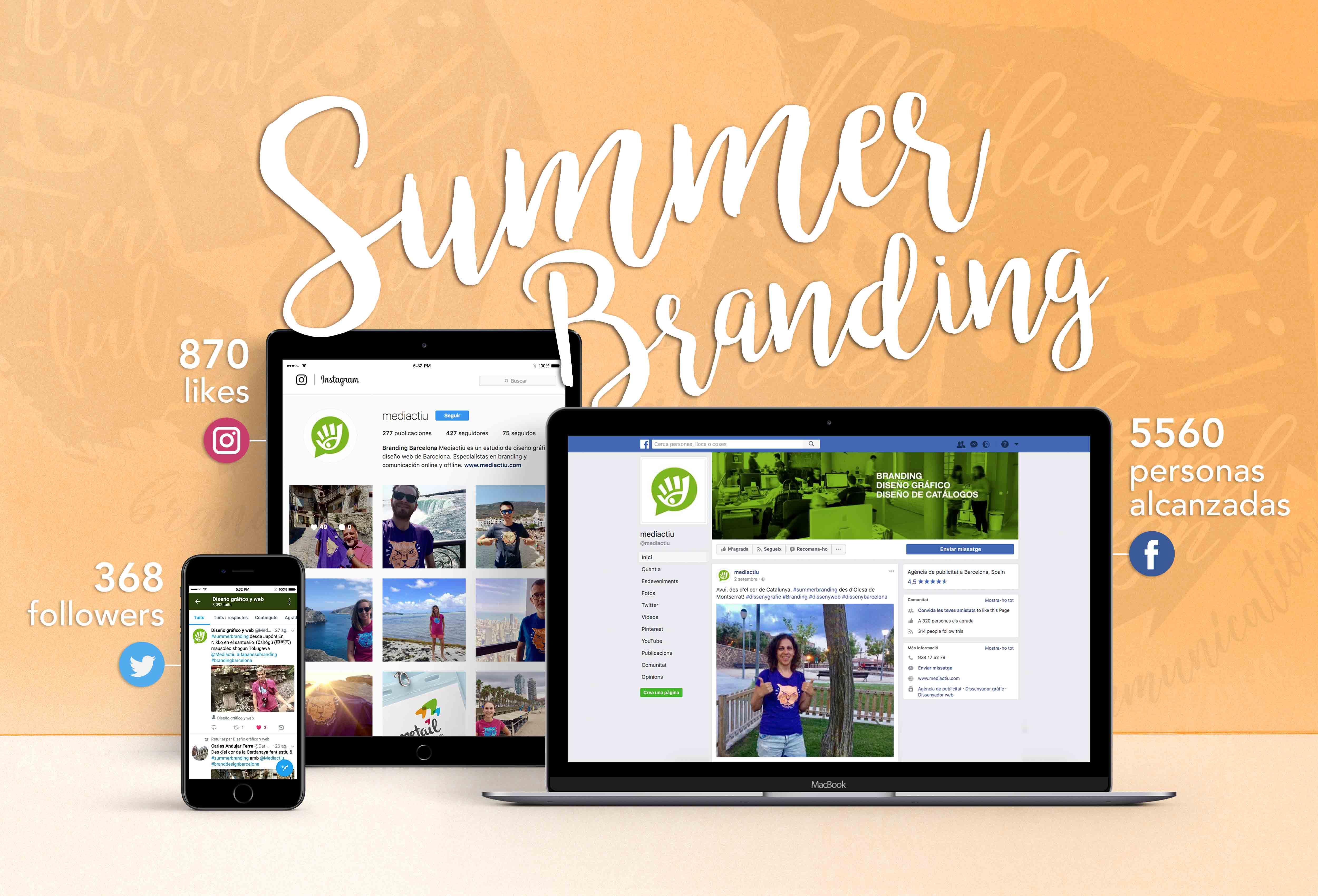 campana verano branding barcelona - Campaña #SummerBranding de comunicación de marca