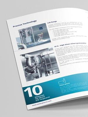 disseny catalegs estudi grafic barcelona - Sales Folder para STE