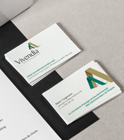 branding and comunication barcelona studio - Brand creation. Vivendia.