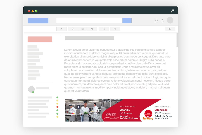 diseno newsletter email barcelona - Eventos y ferias que generan retorno de inversión