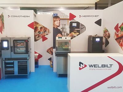 elementos para eventos - Fair events for Welbilt