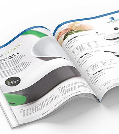 estudi disseny grafic maquetacio - Product catalog for horeca sector