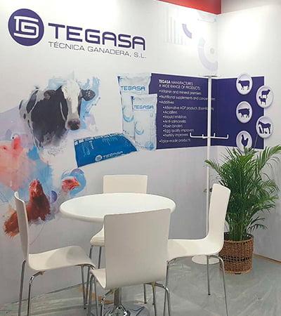 estudi disseny stands fires - Creació d'un Stand per Tegasa