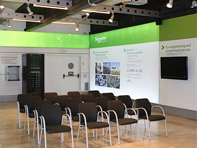 estudio stands barcelona - Evento Schneider Electric de presentación de productos