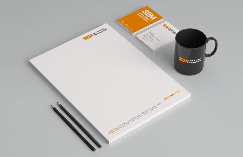 aplicacion branding elementos papeleria corporativa - La importancia del branding independientemente del sector