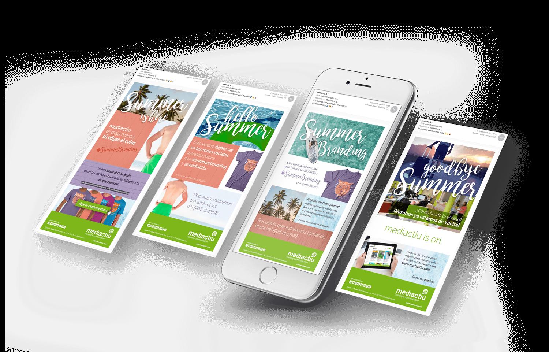 newsletter mailing promotional barcelona - ¿Eres de los que dejan la campaña de verano al azar o realizas una estrategia completa?