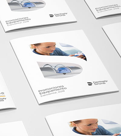 graphic design and communication studio - Catalog for dental sector