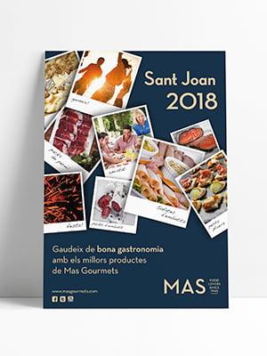 promotional campaign graphic design - Promoción de productos alimentarios para festividades