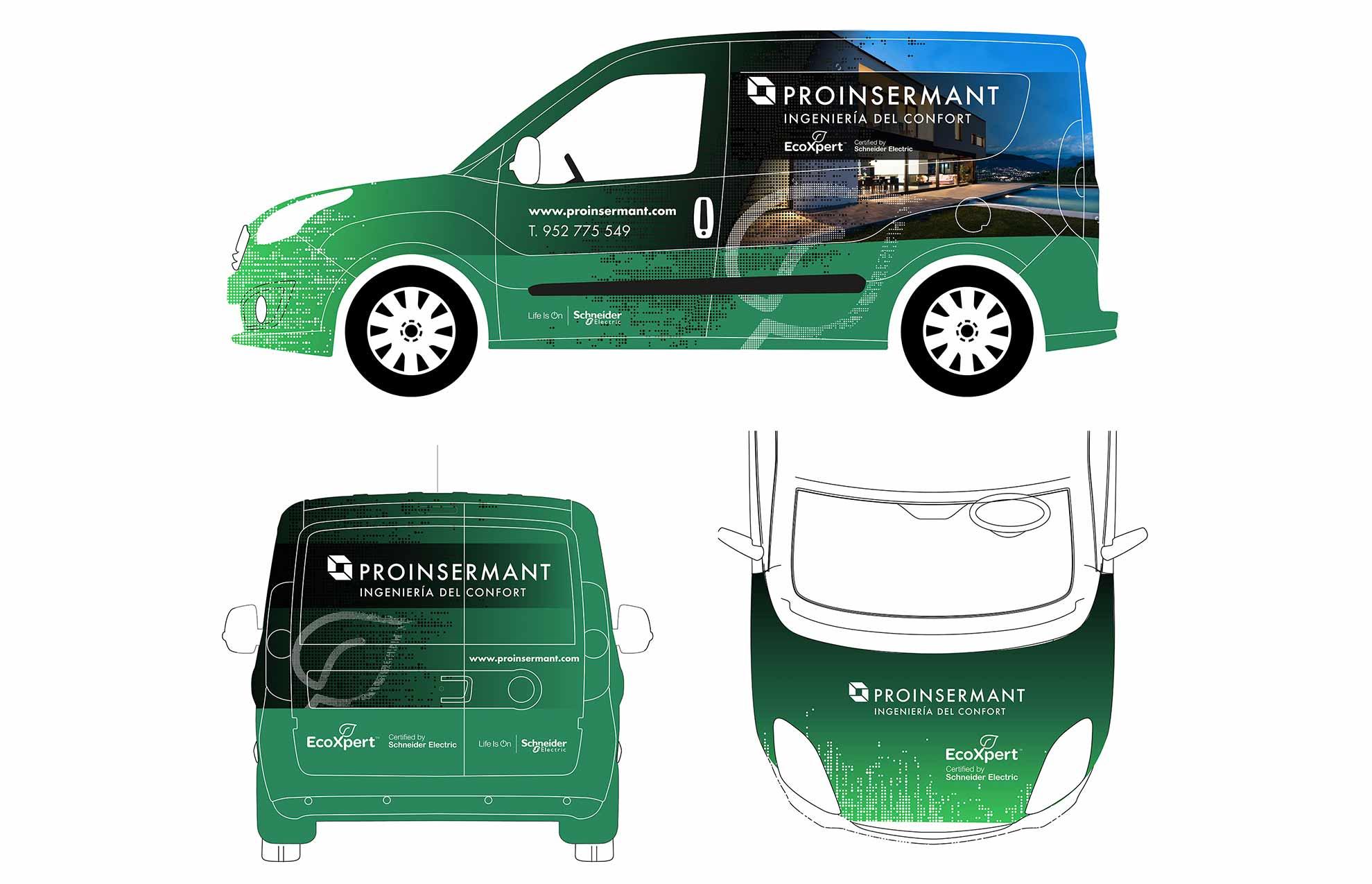 rotulacion vehiculo empresa industrial - 6 razones por las que debes rotular una flota de vehículos de empresa