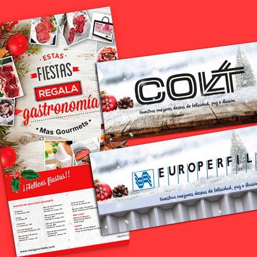 diseno felicitacion navidad barcelona 500x500 - El marketing navideño en tu estrategia anual