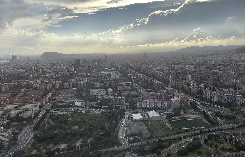 vista aerea barcelona evento canalys - Participamos en el certamen EMEA Canalys Channels Forum