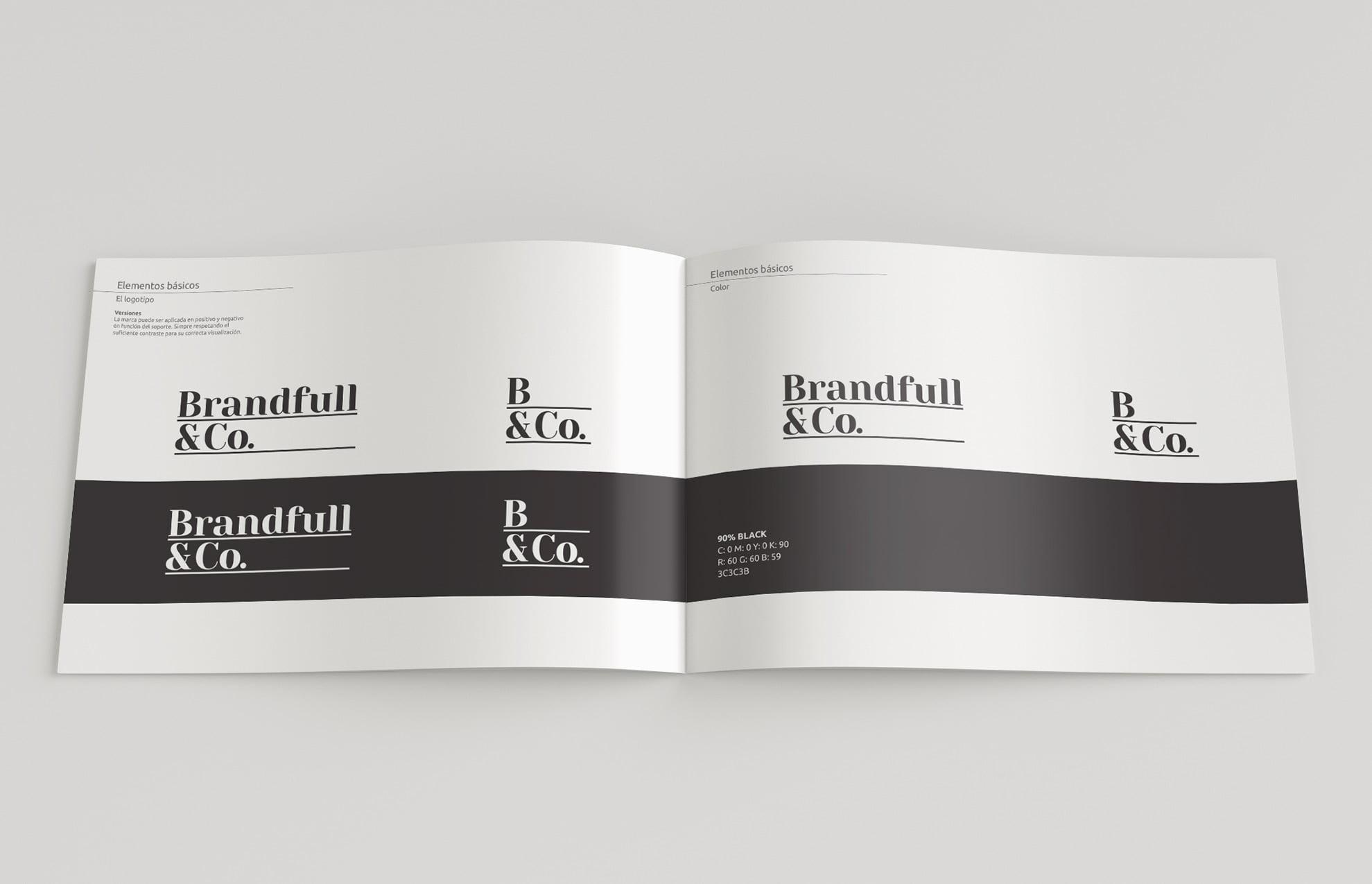 creacion logotipo empresa textil - Brandfull&Co, un proyecto integral de diseño