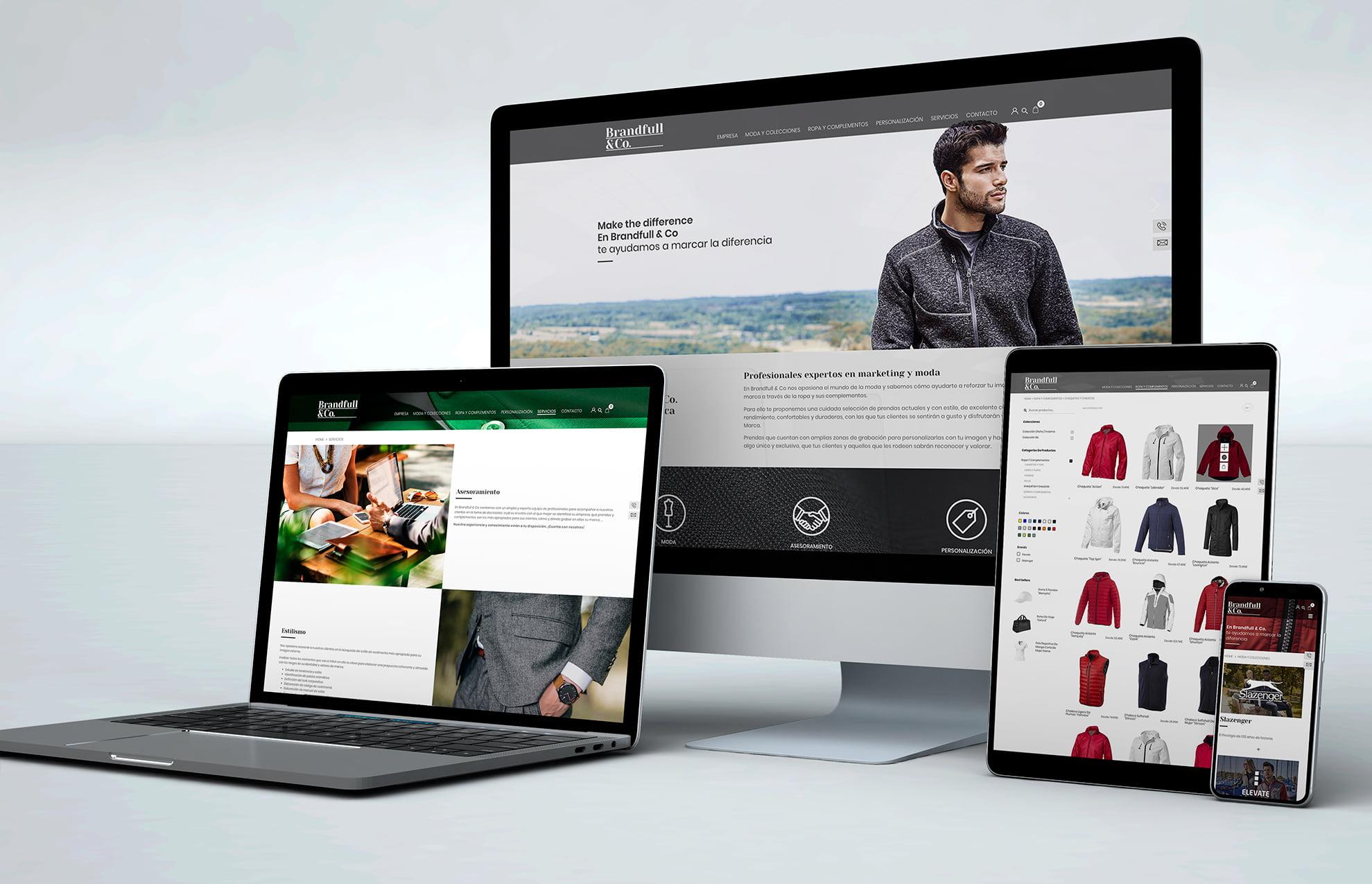 creacion pagina web moda - Brandfull&Co, un proyecto integral de diseño