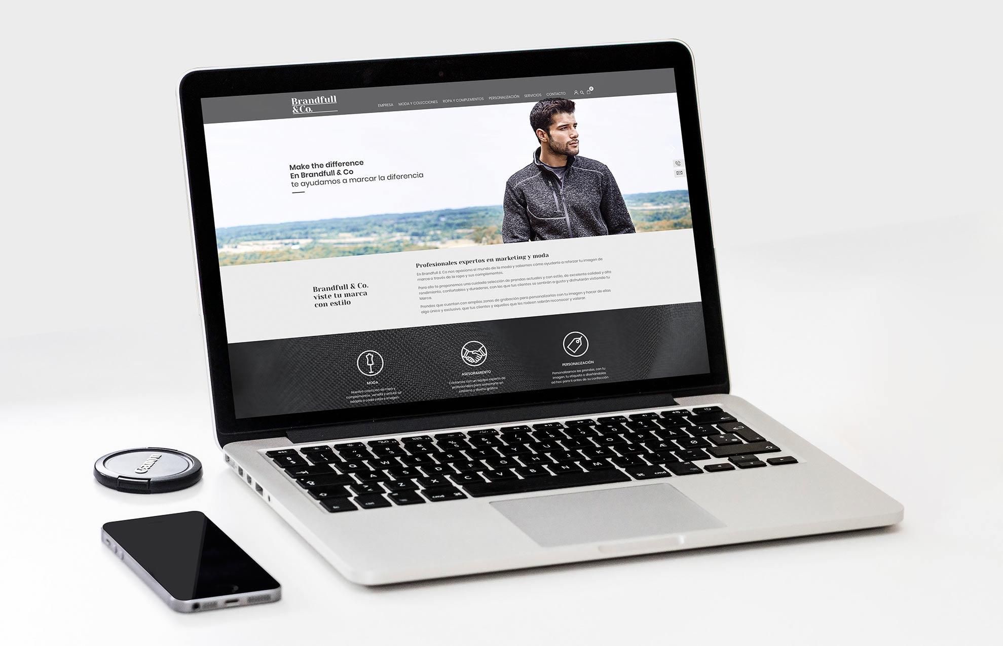 diseno ecommerce moda - Brandfull&Co, un proyecto integral de diseño