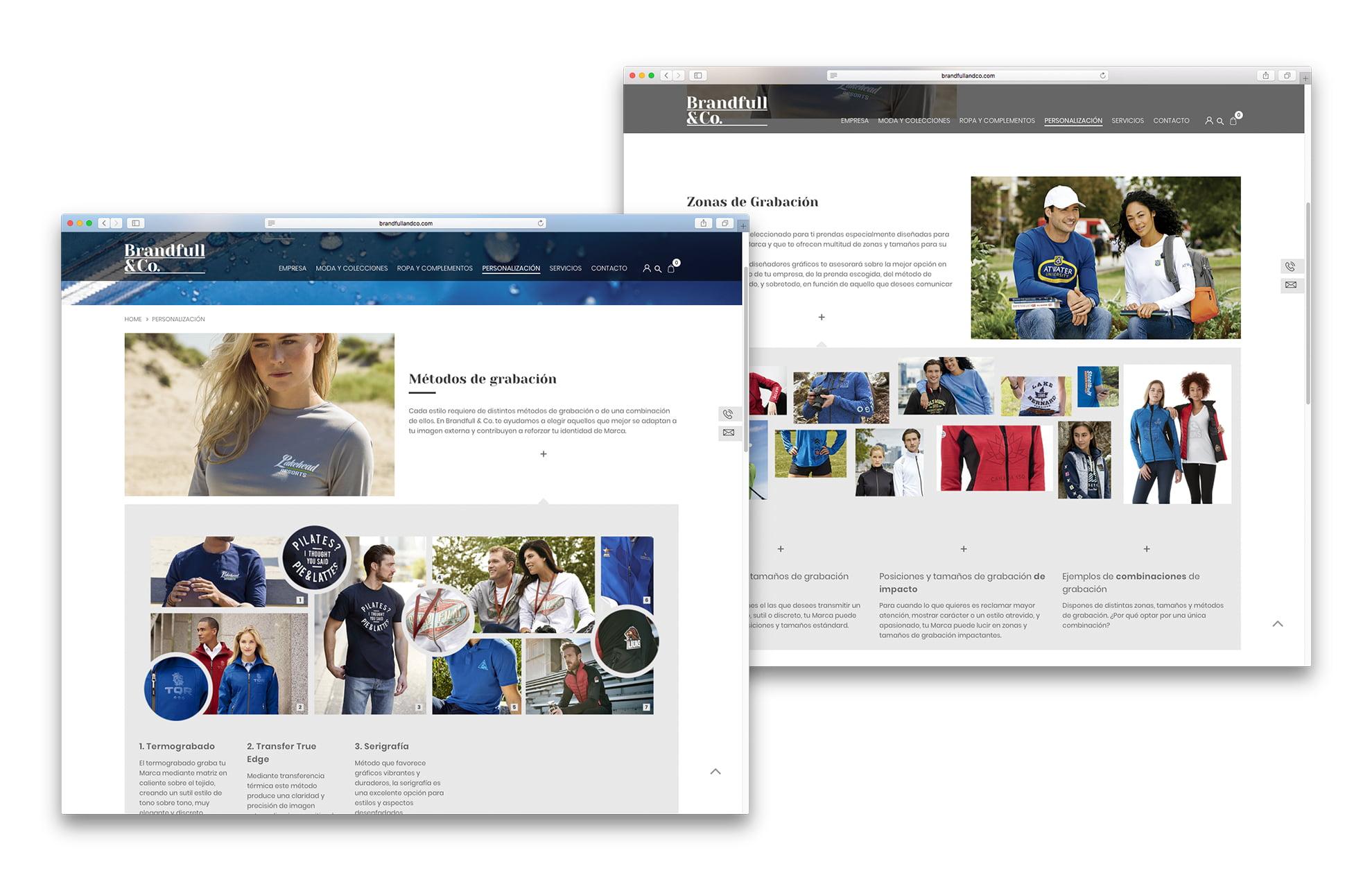 diseno tienda online moda - Brandfull&Co, un proyecto integral de diseño