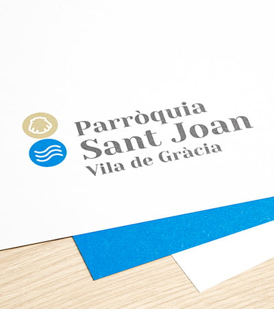 estudio grafico branding - Branding design for the Sant Joan de Gràcia Church