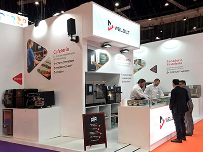 diseno stands para ferias - Stand design for Welbilt