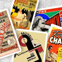 carteles publicitarios - La historia del cartel publicitario