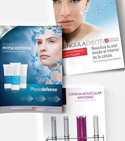 diseno grafico de carteles promocionales - Campañas promocionales para marca de cosmética