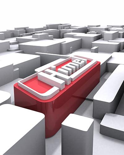 render 3D - Creación de logotipo 3D