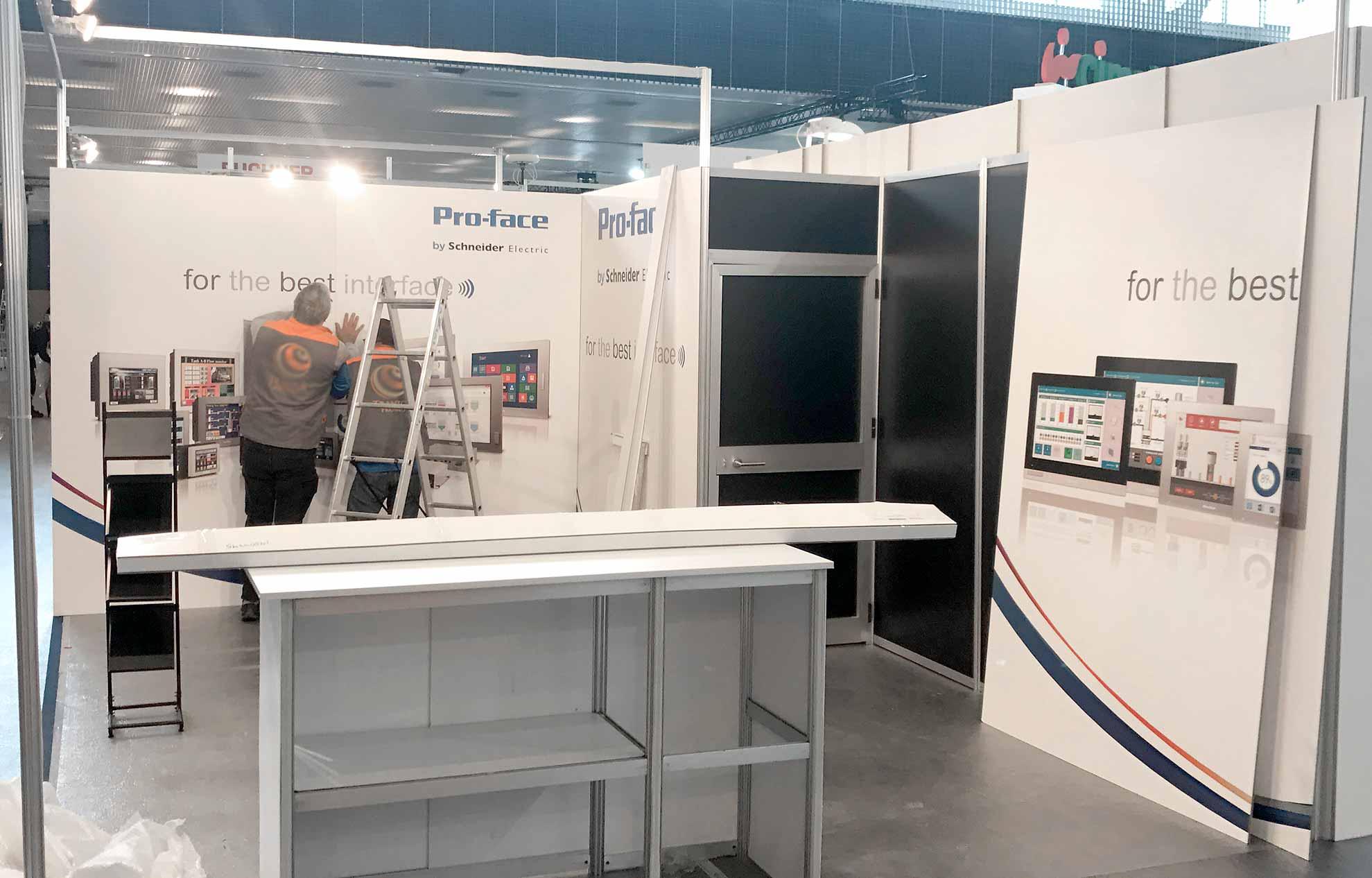 stand para feria industrial - Cómo conseguir un diseño de stand perfecto para mi empresa