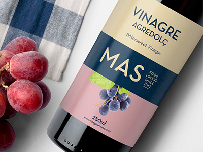 diseno etiqueta packaging barcelona - Vinegar packaging design