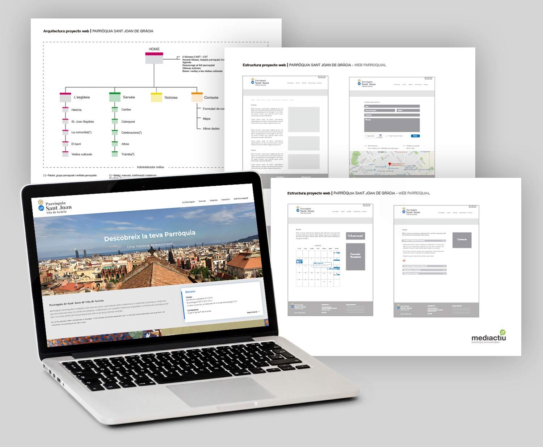 diseno web parroquia barcelona - ¿Quieres crear una web y no sabes cómo empezar? Te damos algunos consejos