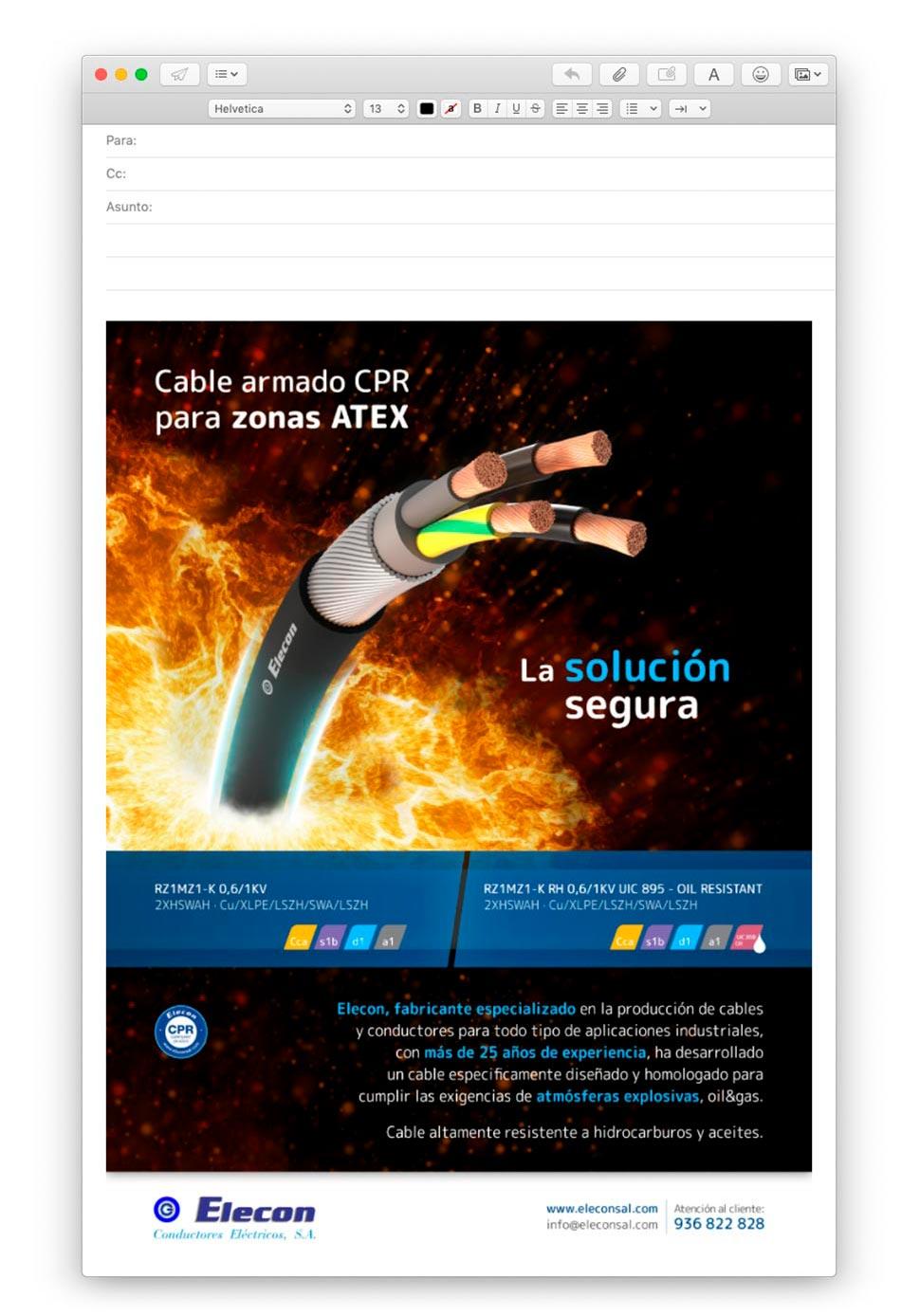 diseno de emailing barcelona 2 - Cómo hacer acciones de mailing