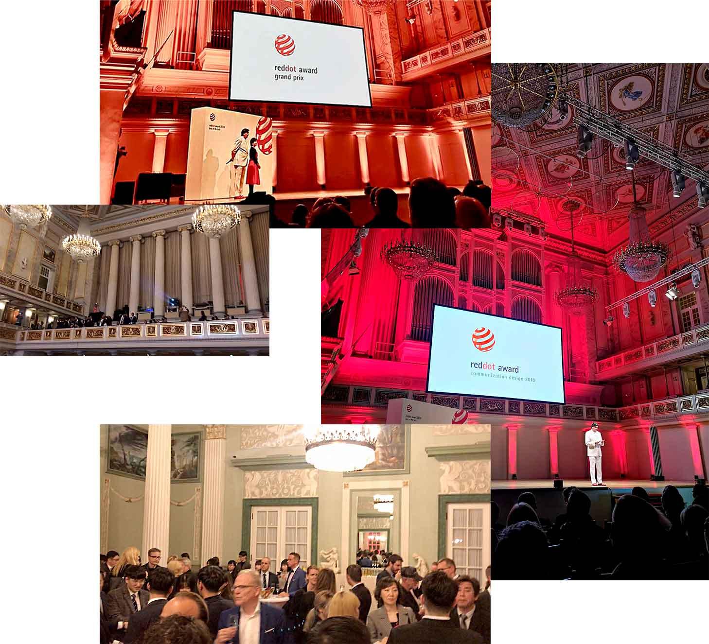 gala red dot premios diseno - El Grand Prix de los Red Dot awards, el premio de los premios del diseño