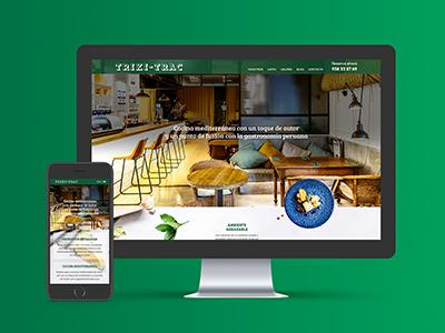 paginas web barcelona - Diseño web restaurante de Barcelona