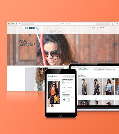 web design barcelona - Diseño de tienda online para sector textil