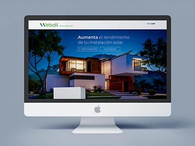 website placas solares 1 - Análisis, consultoría, estilo comunicacional y diseño web