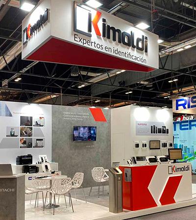 creacion de stand - Creación de stand de Kimaldi