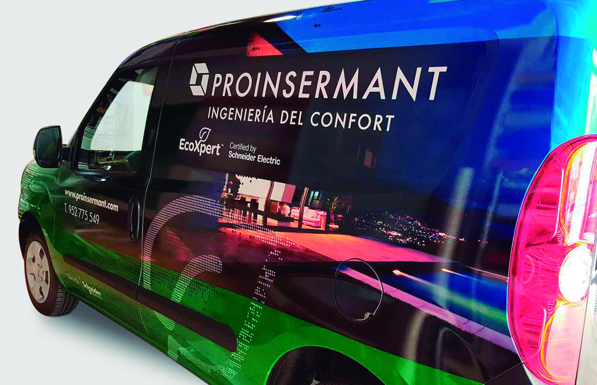 4 rotulacio furgoneta corporativa barcelona - La rotulación una inversión que genera beneficios