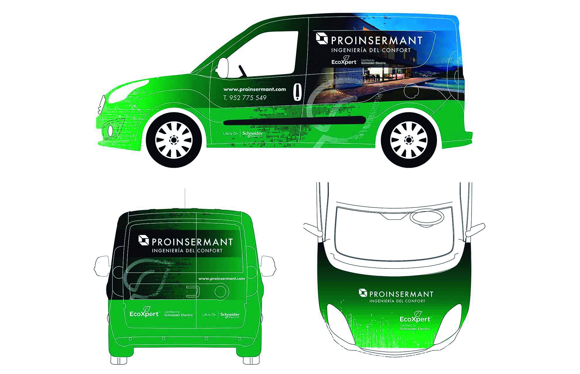 5 rotulacion vehiculo empresa industrial - La rotulación una inversión que genera beneficios