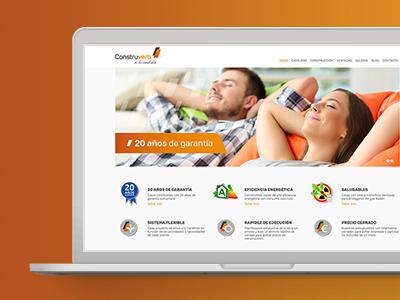 creacion de pagina web constructora - Website design and programming