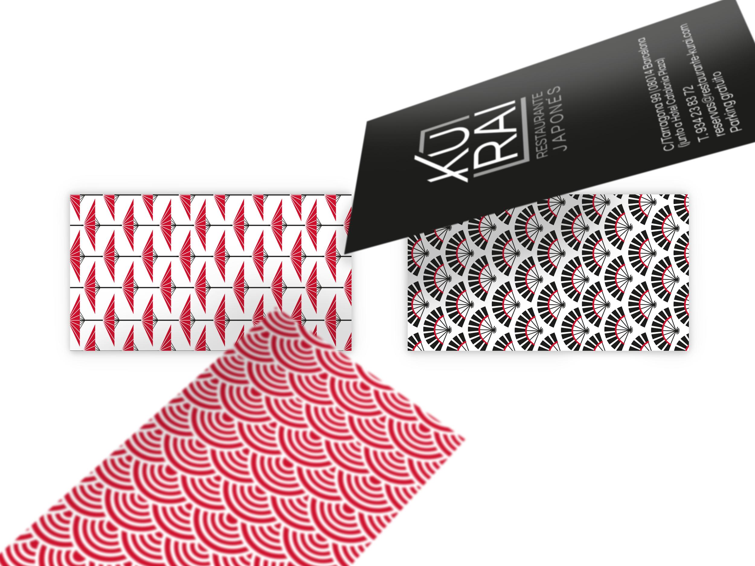 tarjetas Kurai - En el detalle esta la diferencia y con acabados especiales se consigue