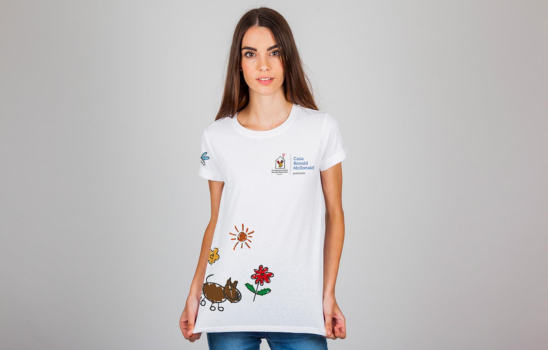 camiseta mcdonalds - Impresión textil, un universo de posibilidades